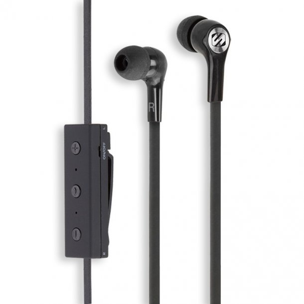 blueBUDS - BlueTooth Headphones - Black