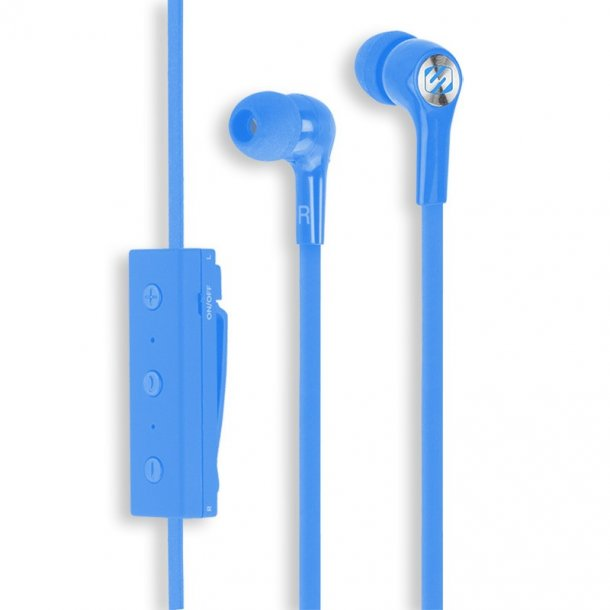 blueBUDS - BlueTooth Headphones - Blue